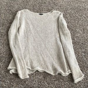 Gray Ann Taylor sweater